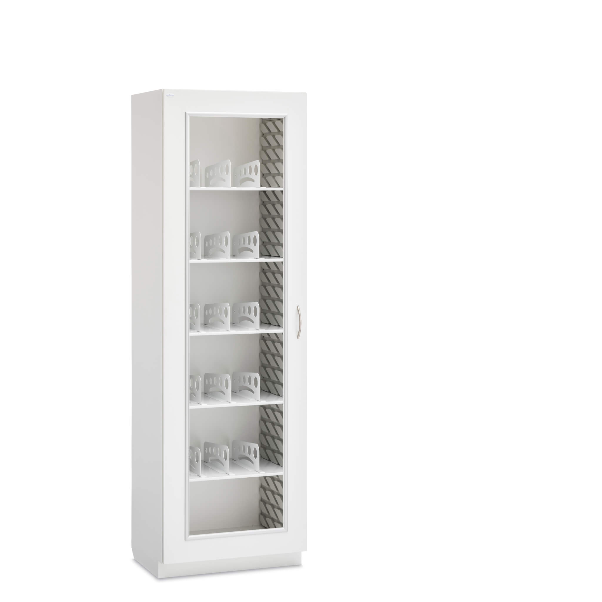 Cabinet With Divided Shelves