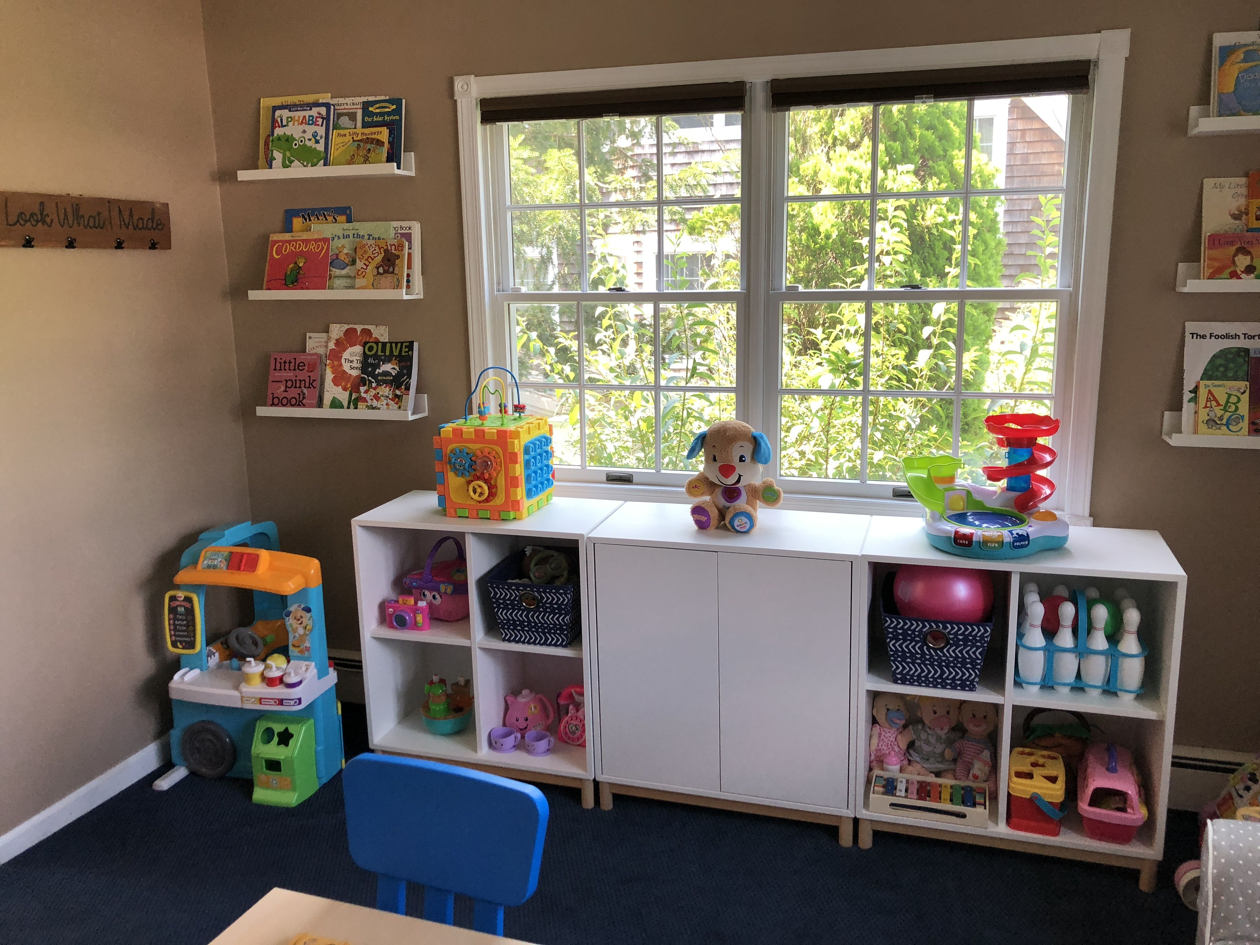 Ikea Picture Shelves And Ikea Eket For Toy Storage | Home