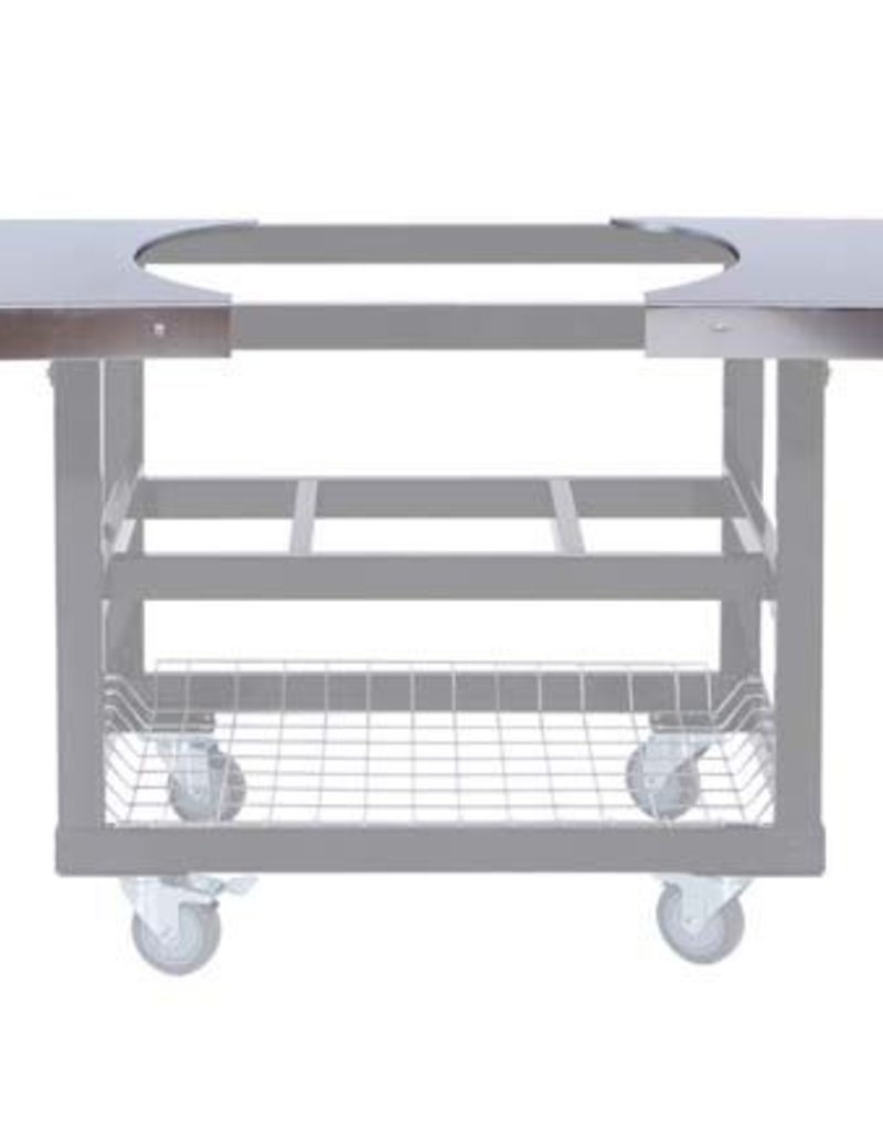 Primo Ceramic Grills Primo Stainless Steel Side Shelves For Oval Xl 400 Or  Lg 300