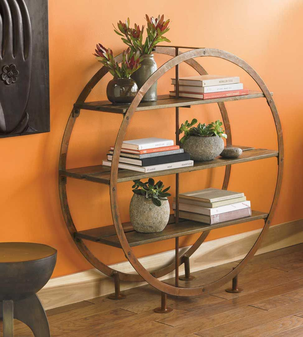 Circular Standing Shelves | Stylish Home Decor Products In