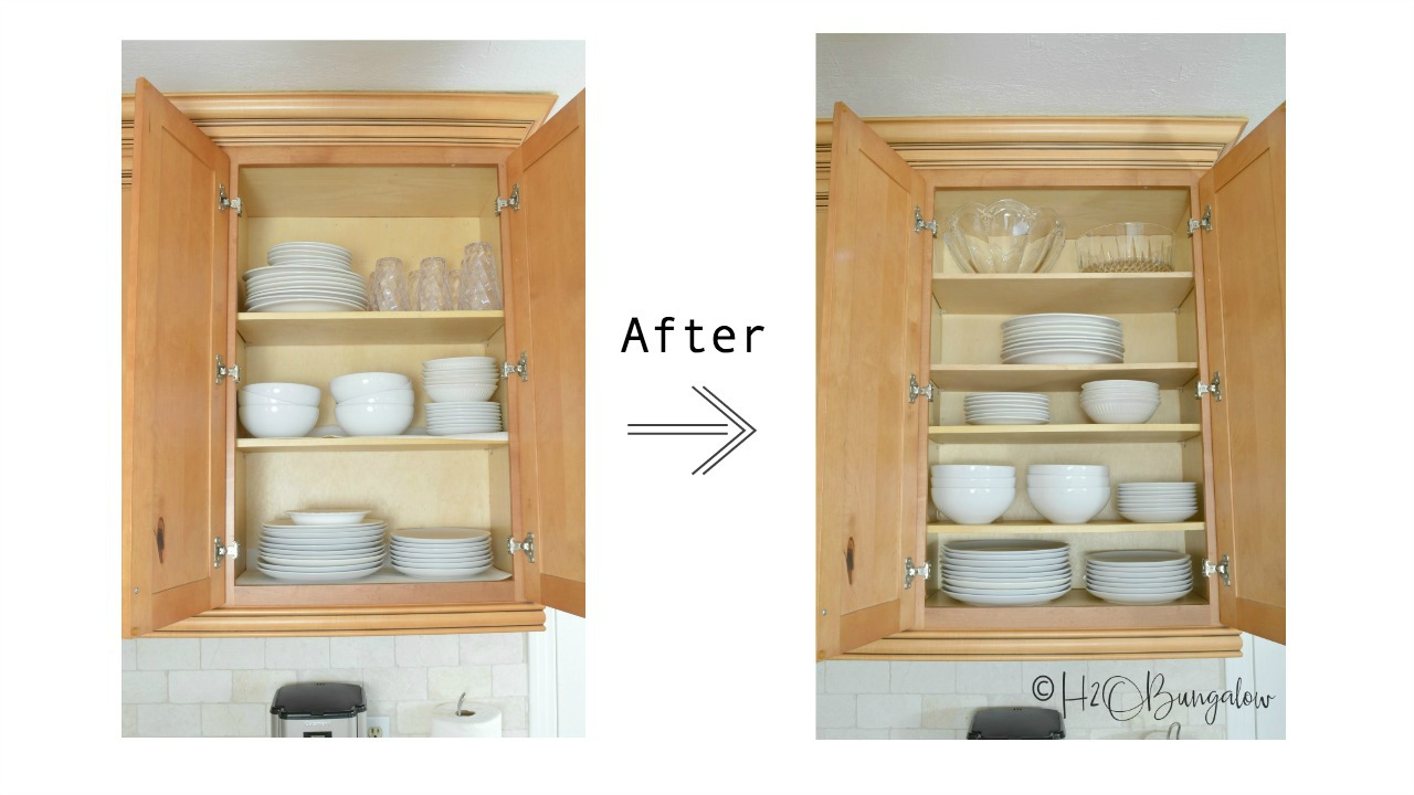 How To Add Extra Shelves To Kitchen Cabinets - H2obungalow