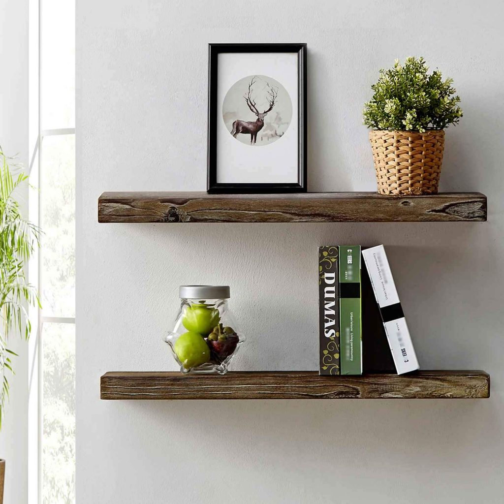 Find The Best Floating Wood Shelves For Your Needs