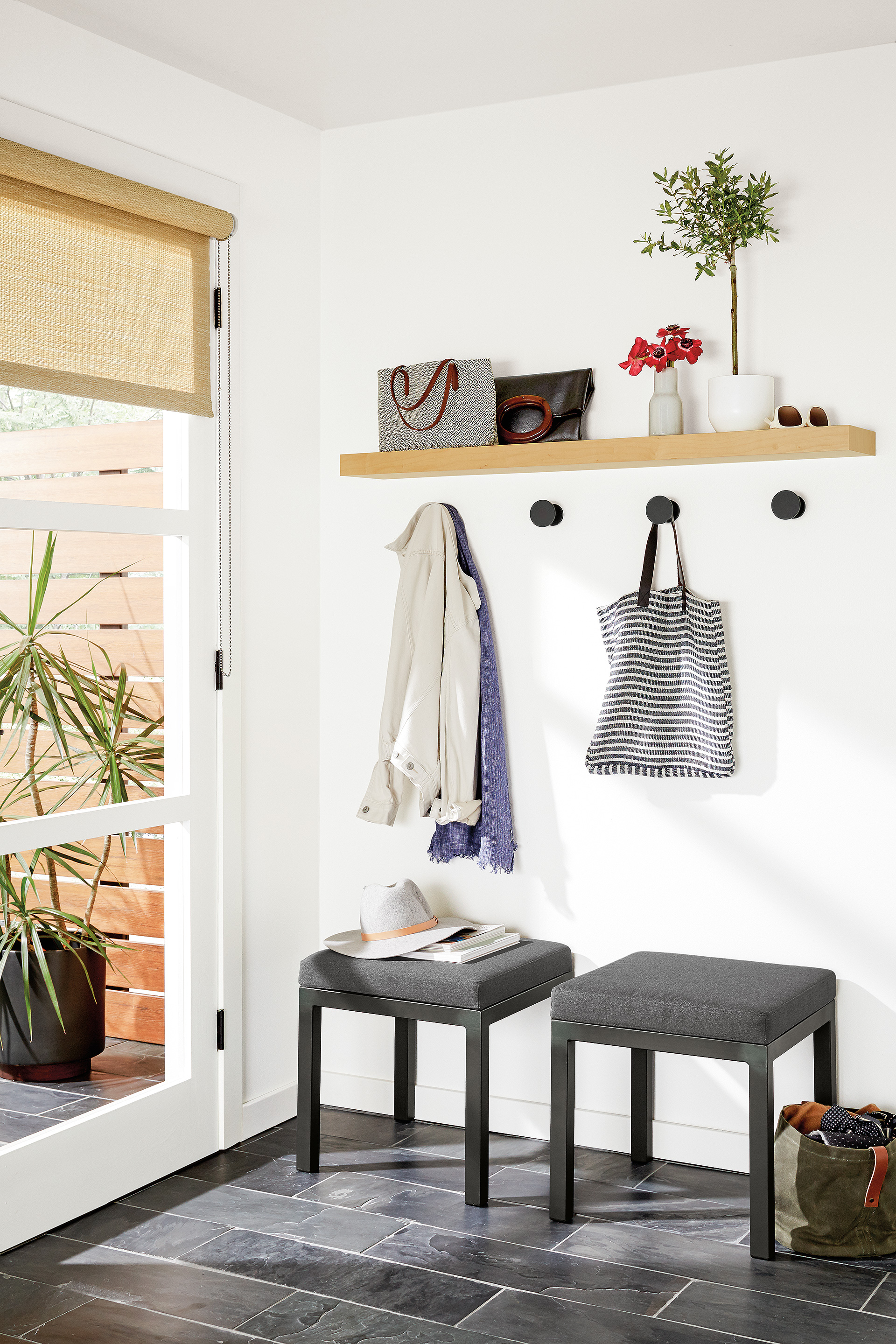 How To Use Floating Wall Shelves - Room & Board