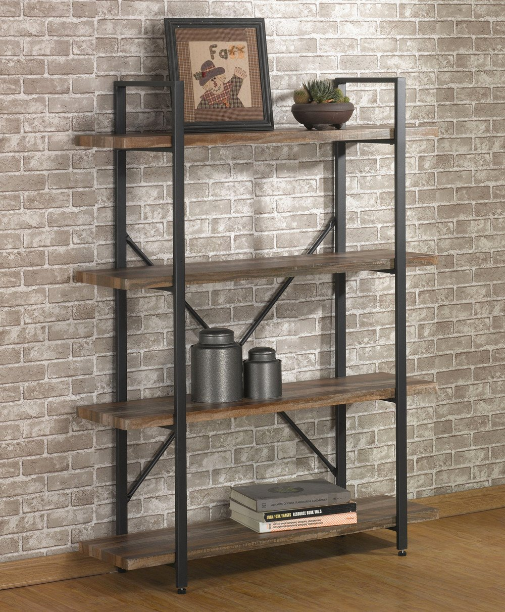 O&k Furniture 4 Tier Bookcases And Book Shelves