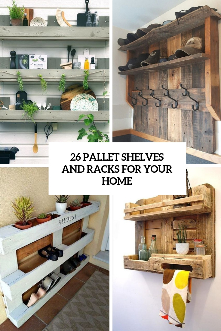 26 Pallet Shelves And Racks For Your Home - Digsdigs