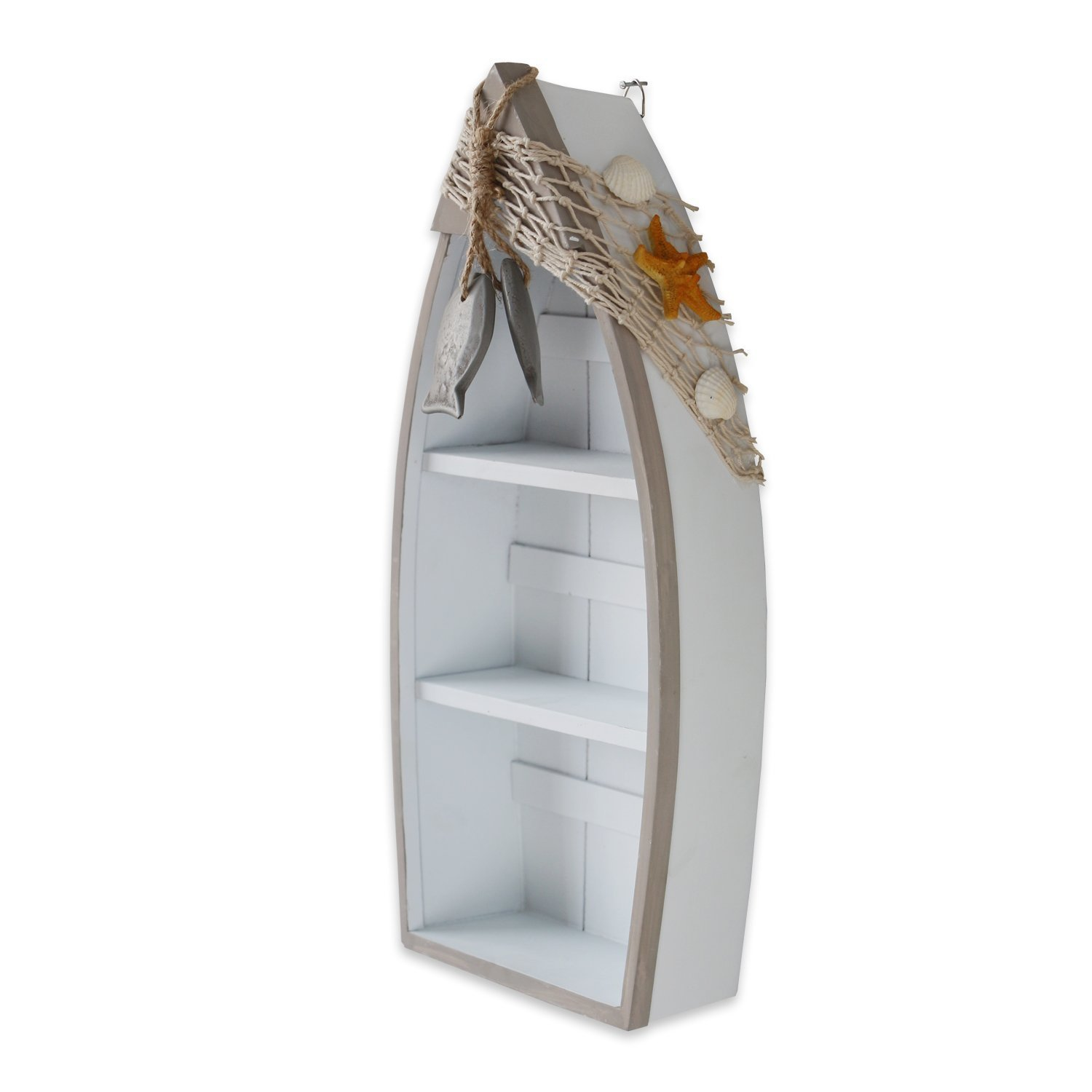 Beach Theme Display Standing Boat Shelves With