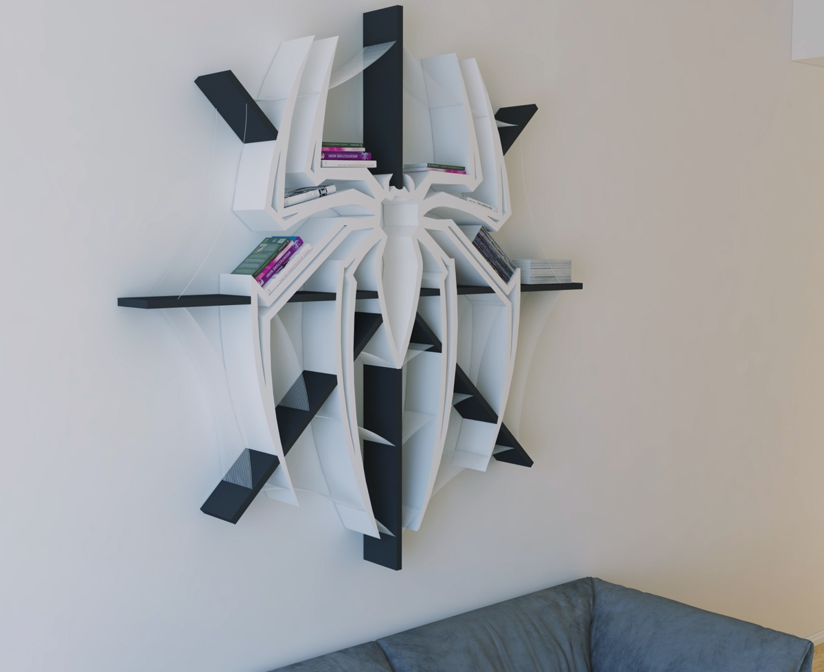 Superhero Wall Shelves For Kids Of All Ages