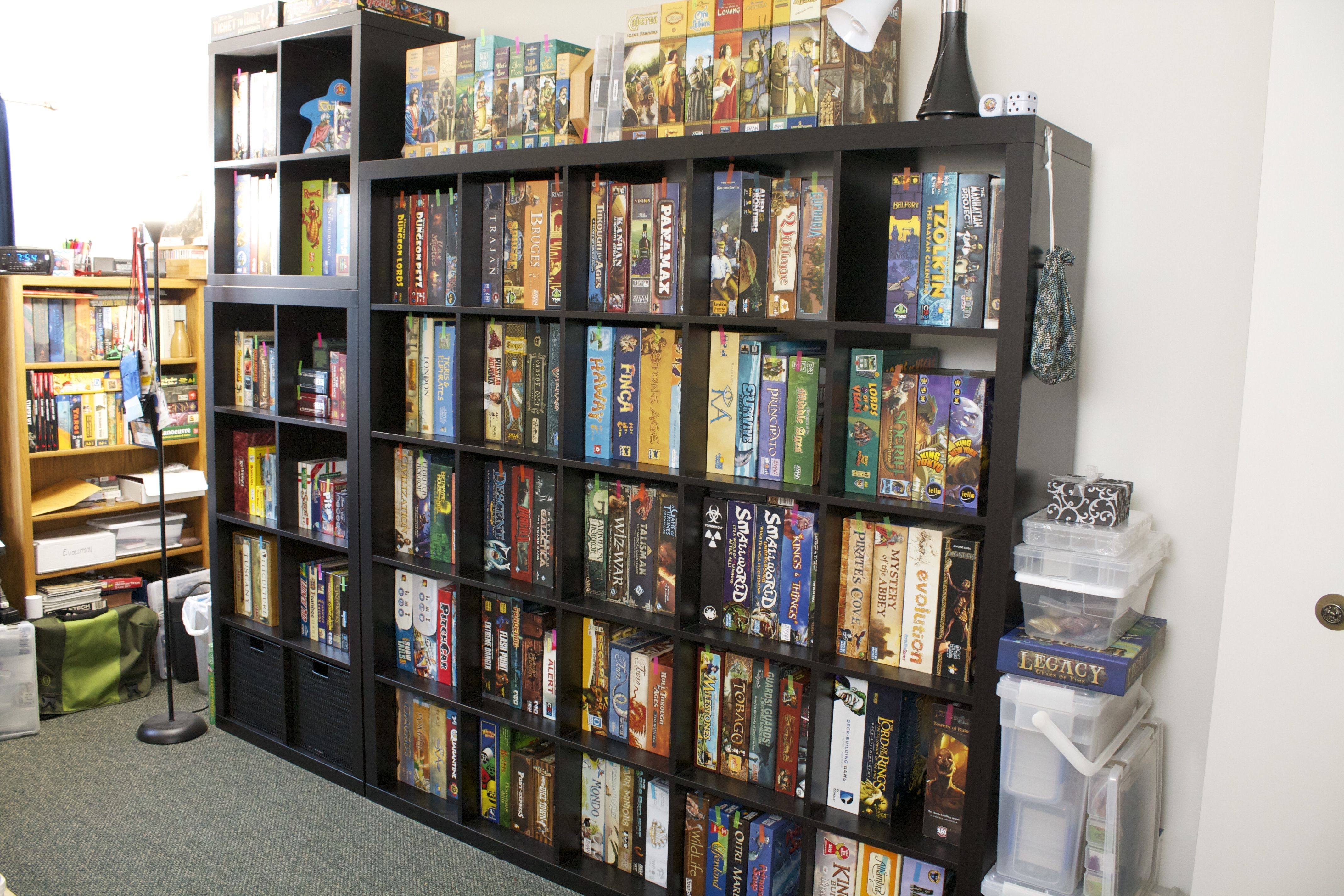 Image Result For Kallax Ikea Board Games   New House   Shelves
