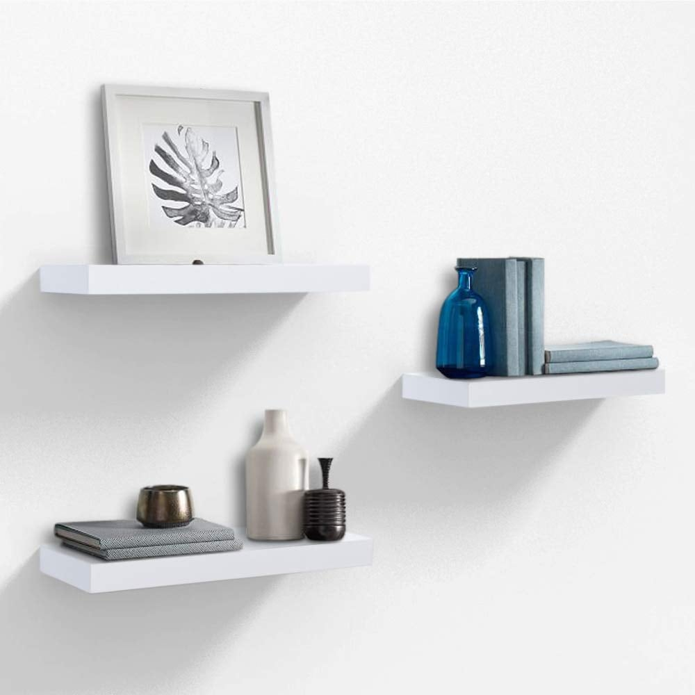 Ahdecor White Floating Wall Mounted Shelves | Best First