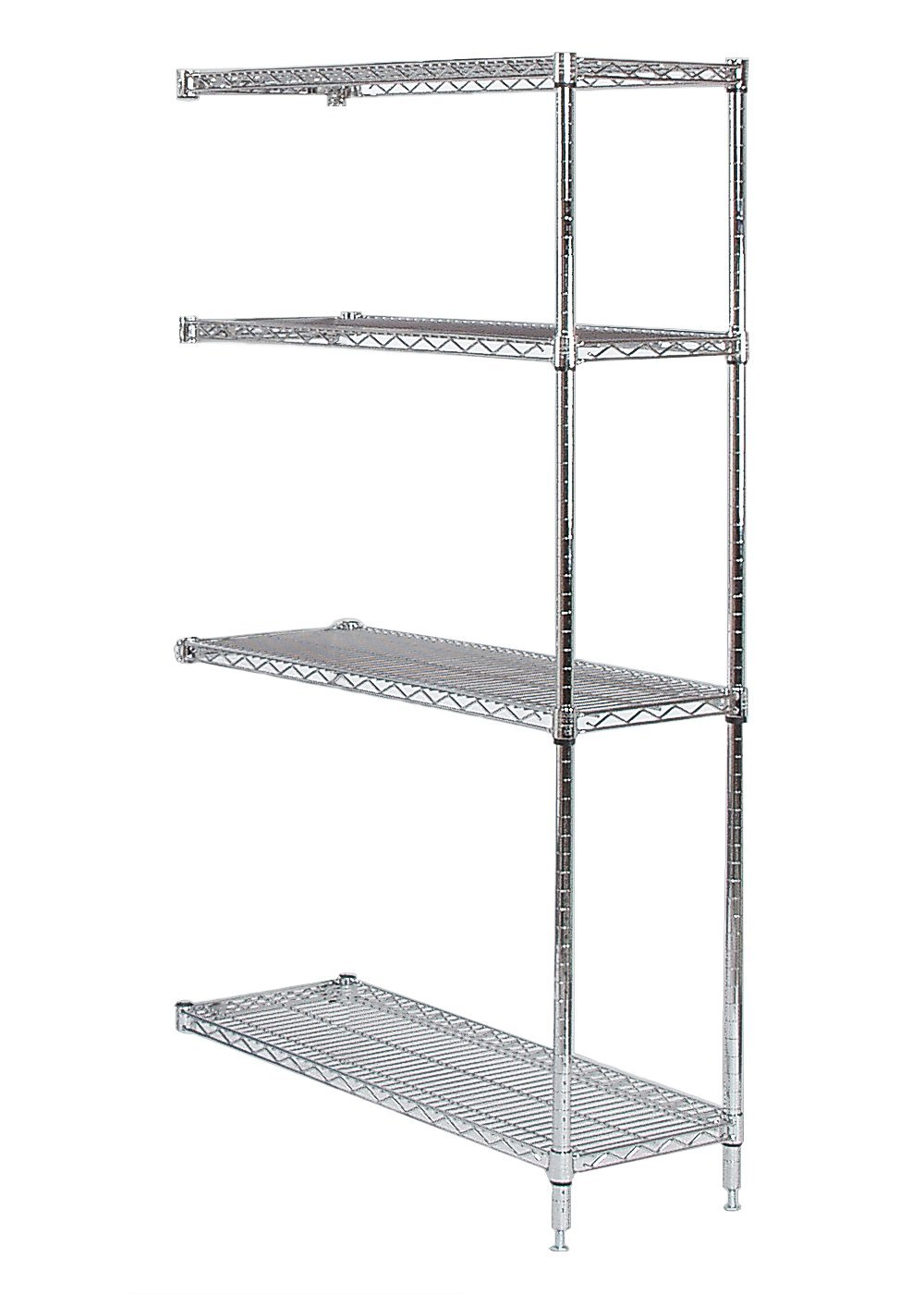 "Tarrison A14306c Chrome Shelves Add-on Unit, 30"" Length"