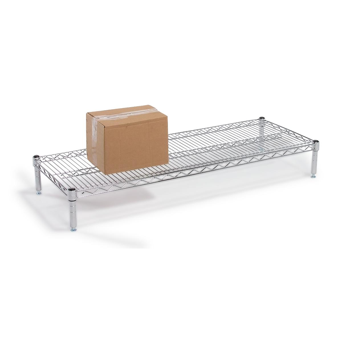 Chrome Wire Platforms With Shelves By Tarrison   Medline Industries