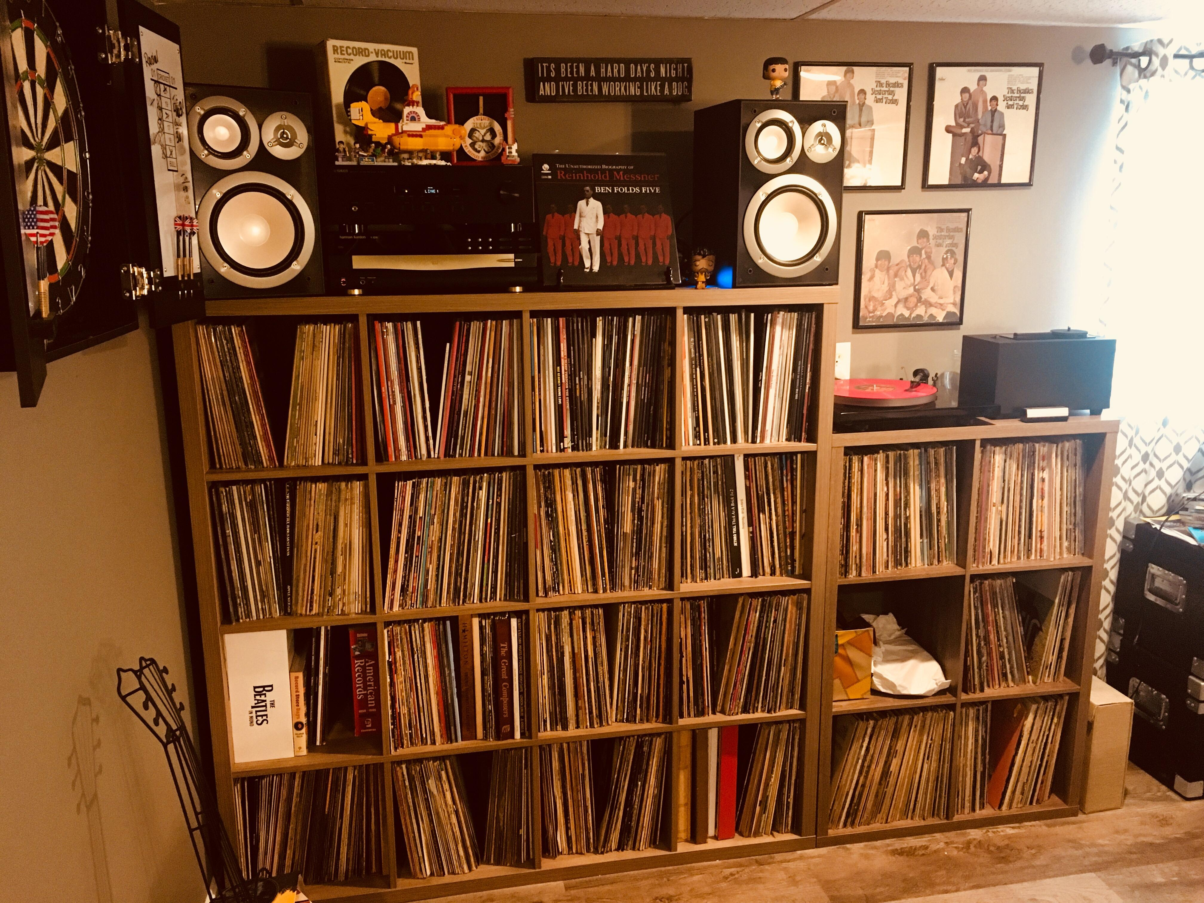 This Week's Tweaks, Including The Smaller Shelves On The Right