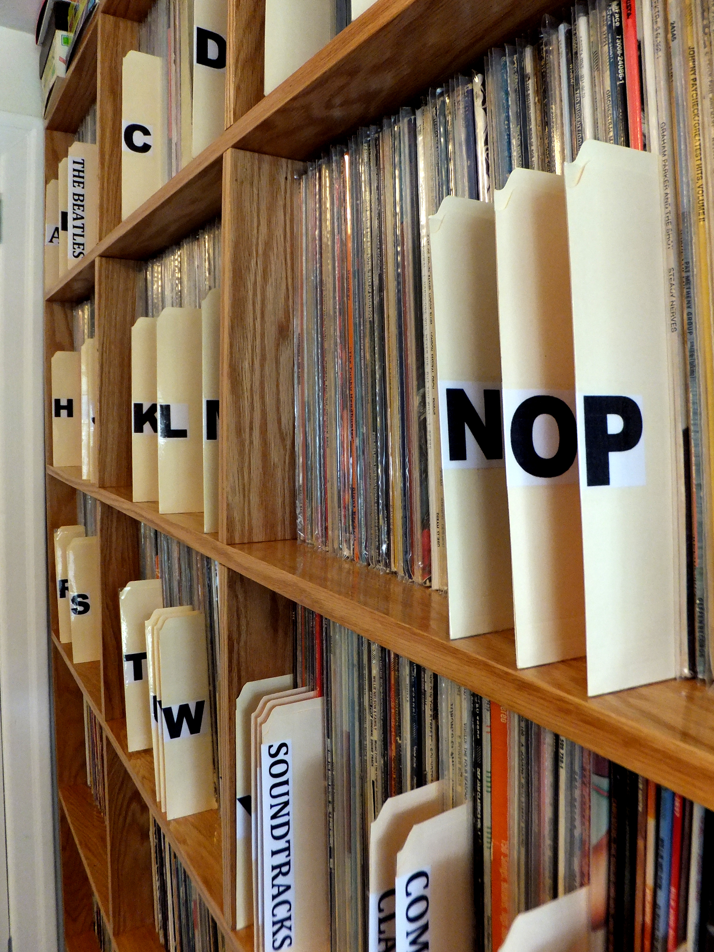 Custom Vinyl Record Shelves | World Of Wesley