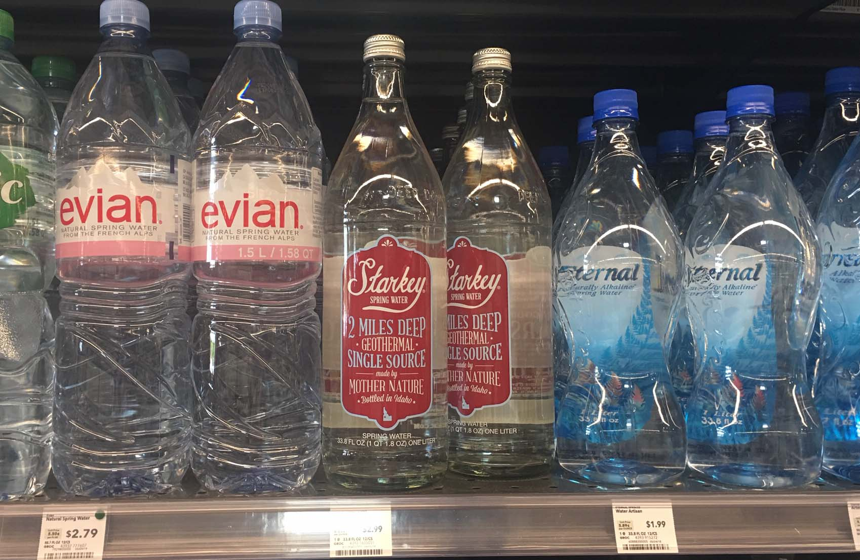 Starkey Water With Arsenic On The Shelves At Whole Foods