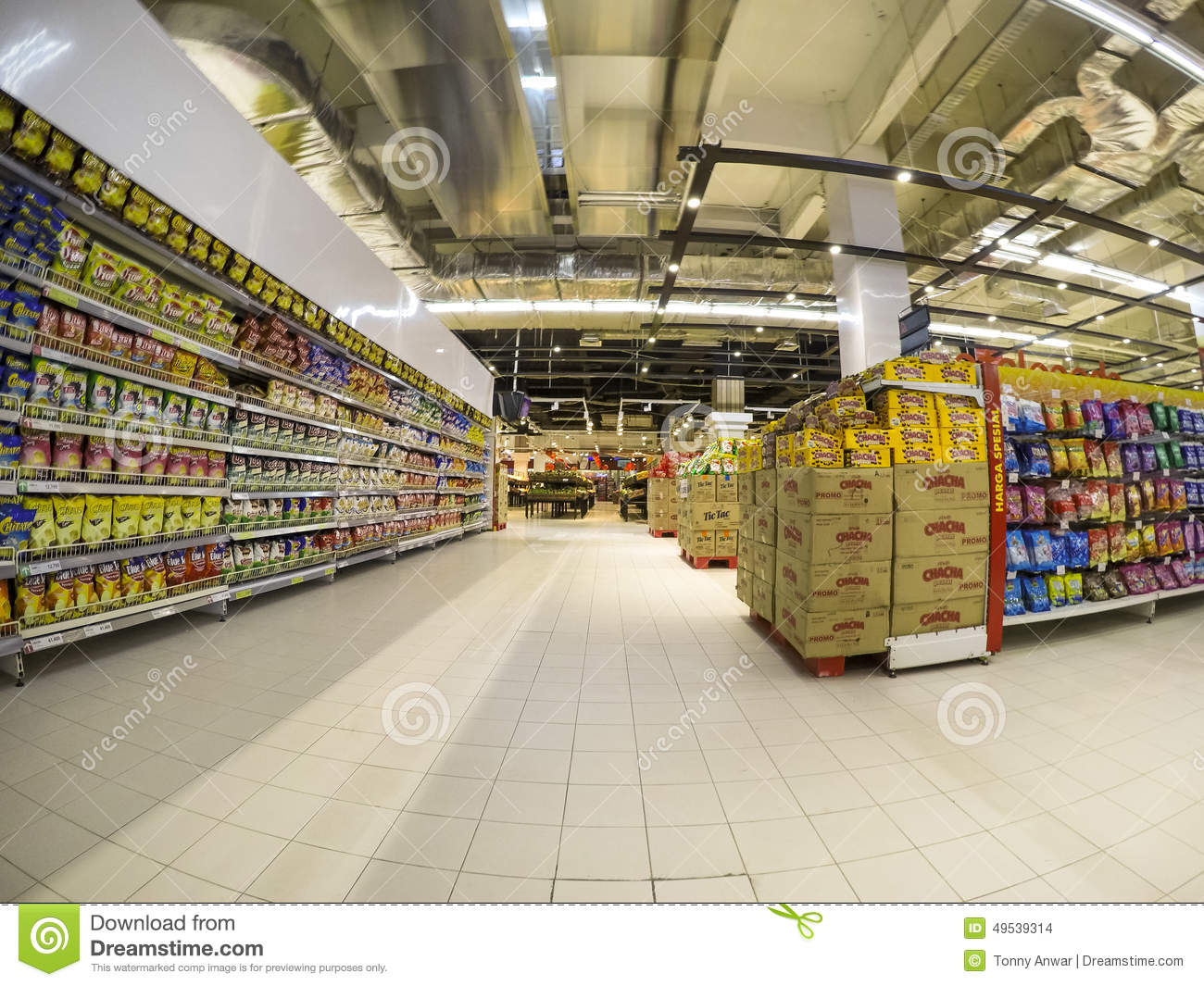 Supermarket Editorial Stock Image Image Of Shelves