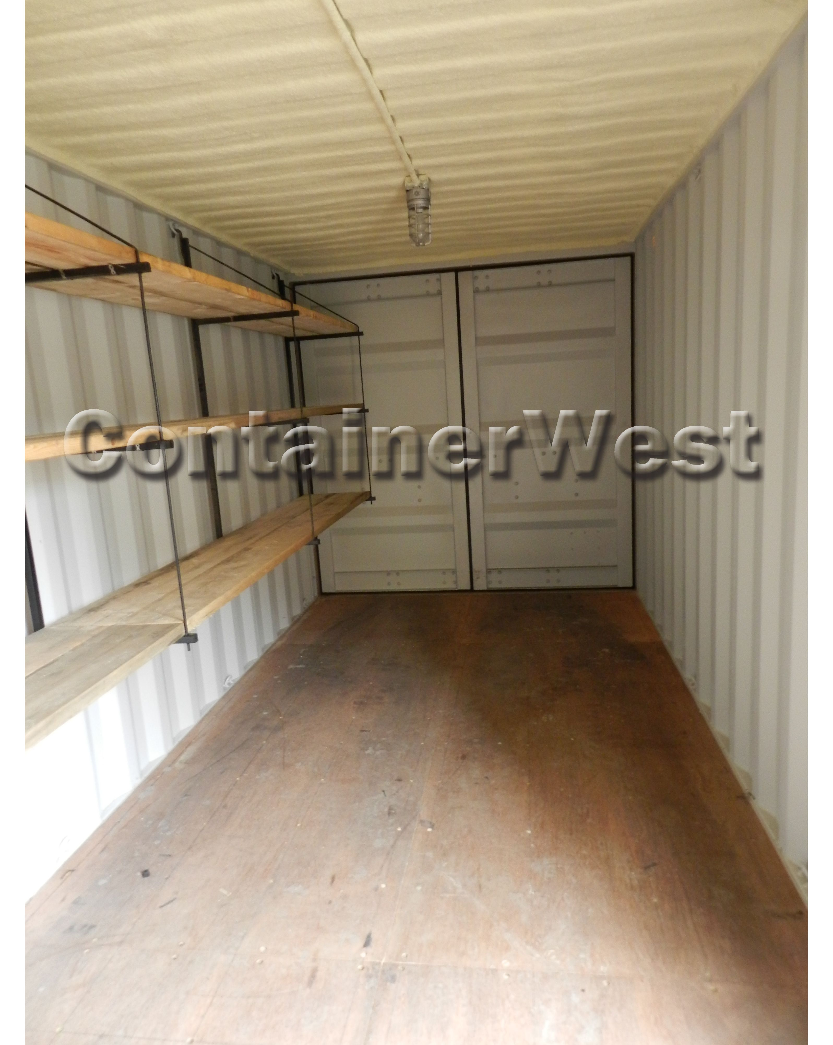 Installing Shelves Inside The Container Is A Great Idea If