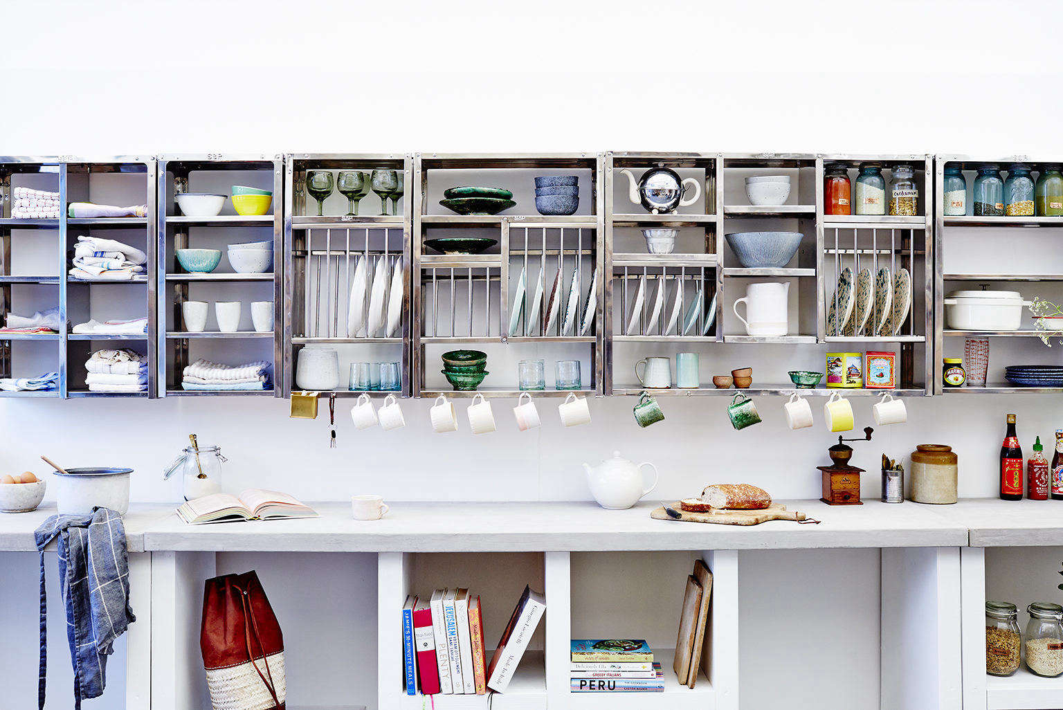 Indian Stainless Steel Kitchen Dish Racks And Shelves From