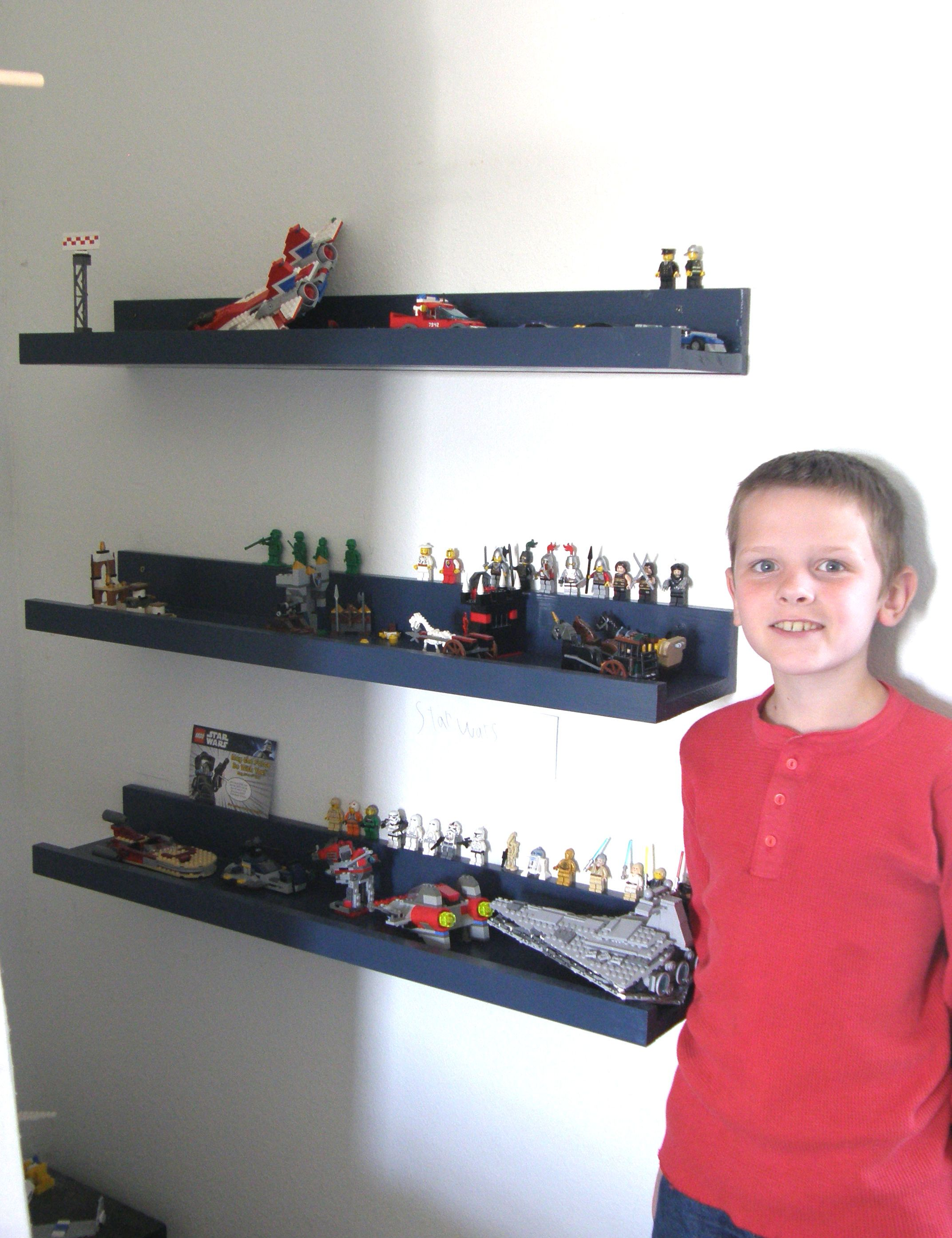 Lego Display Shelves | Do It Yourself Home Projects From Ana