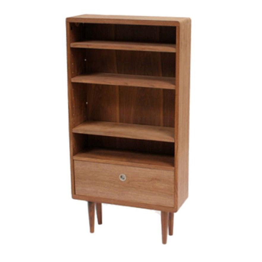 Swan Open Shelves With A Drawer
