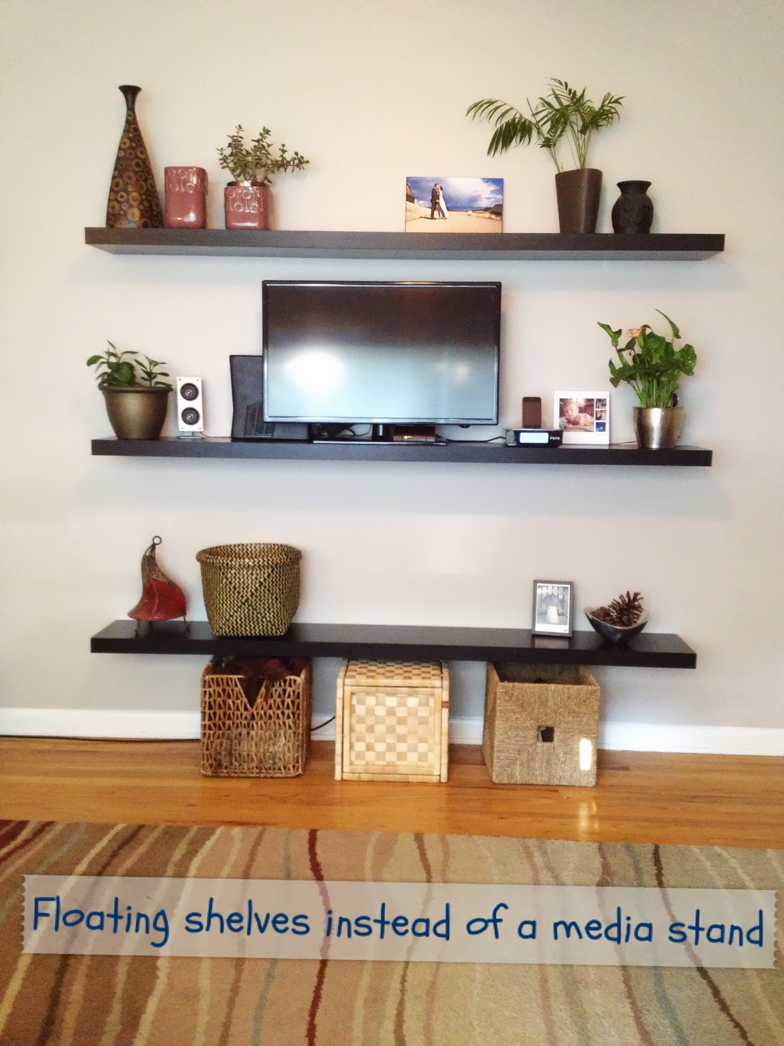 More Floating Shelves! â« Our Wee Home