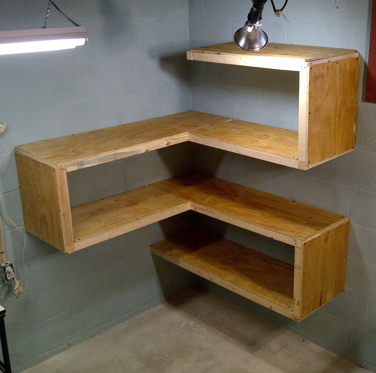 Functional And Funky Corner Shelves And Tables Let's Get