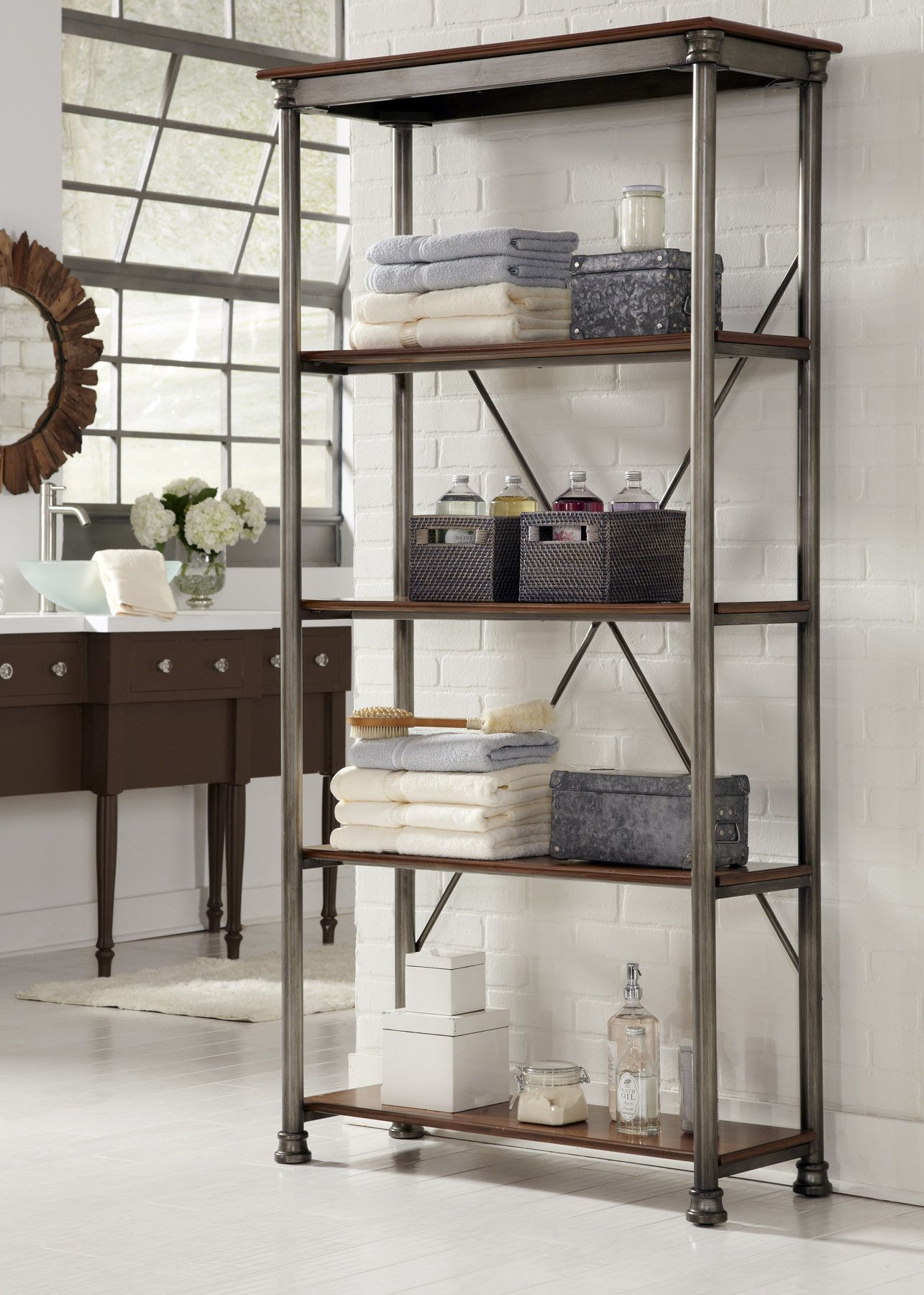 Found It At Wayfair - Orleans Multi-function Shelves In