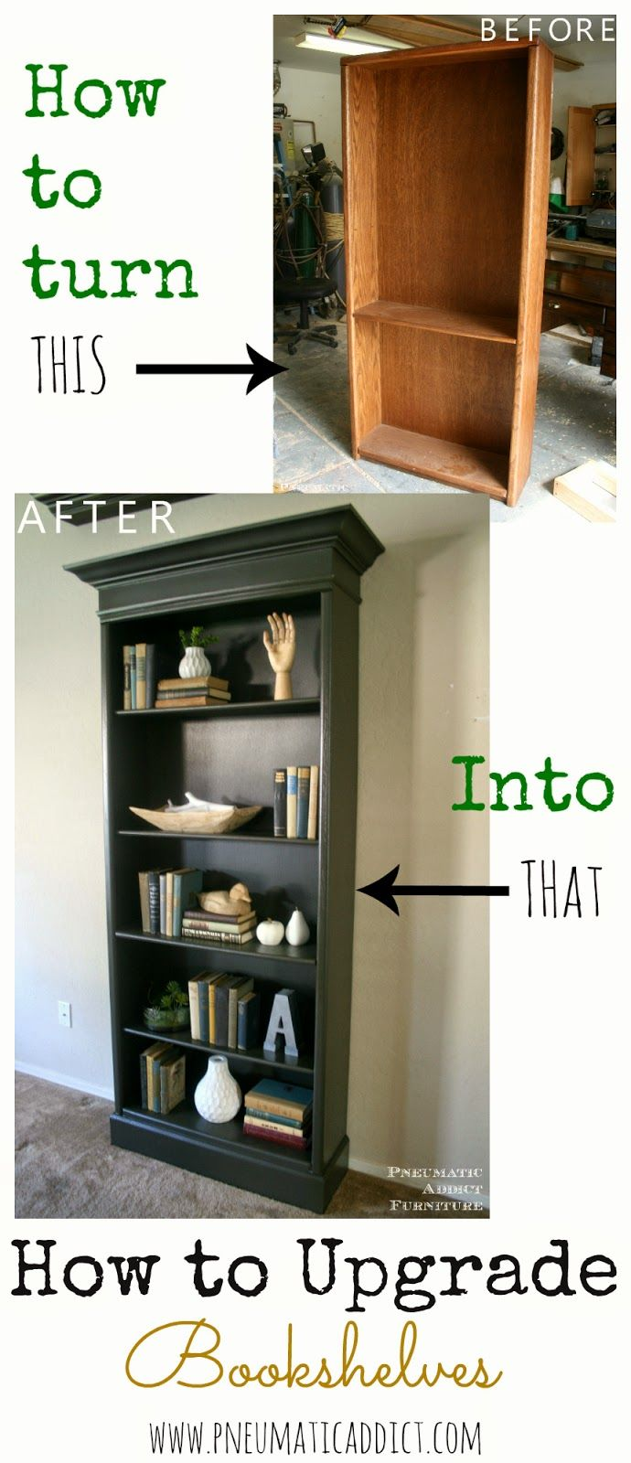 How To Upgrade Bookshelves | Maybe One Day I'll Try Making