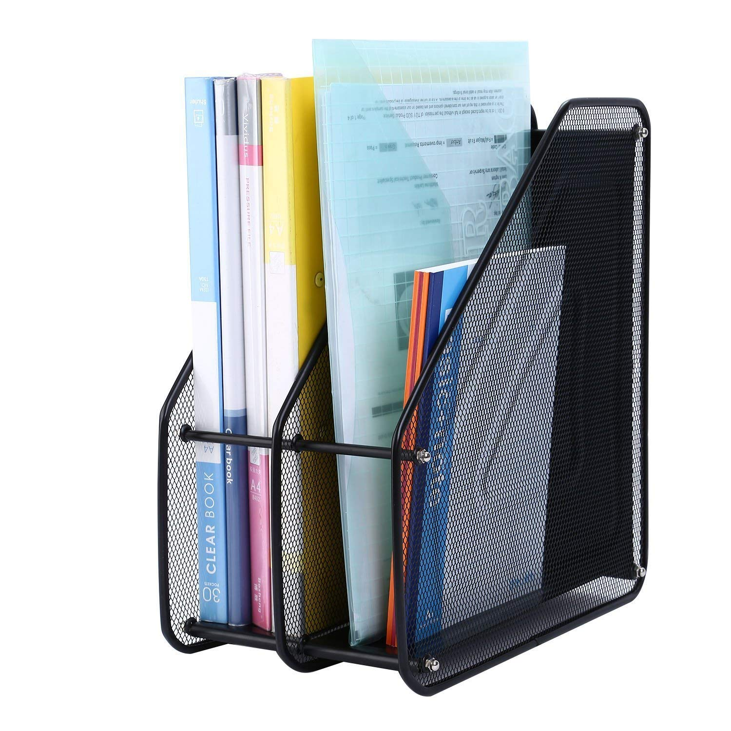 Dayons Desk Organizer Shelves Rack For Magazine Holder File