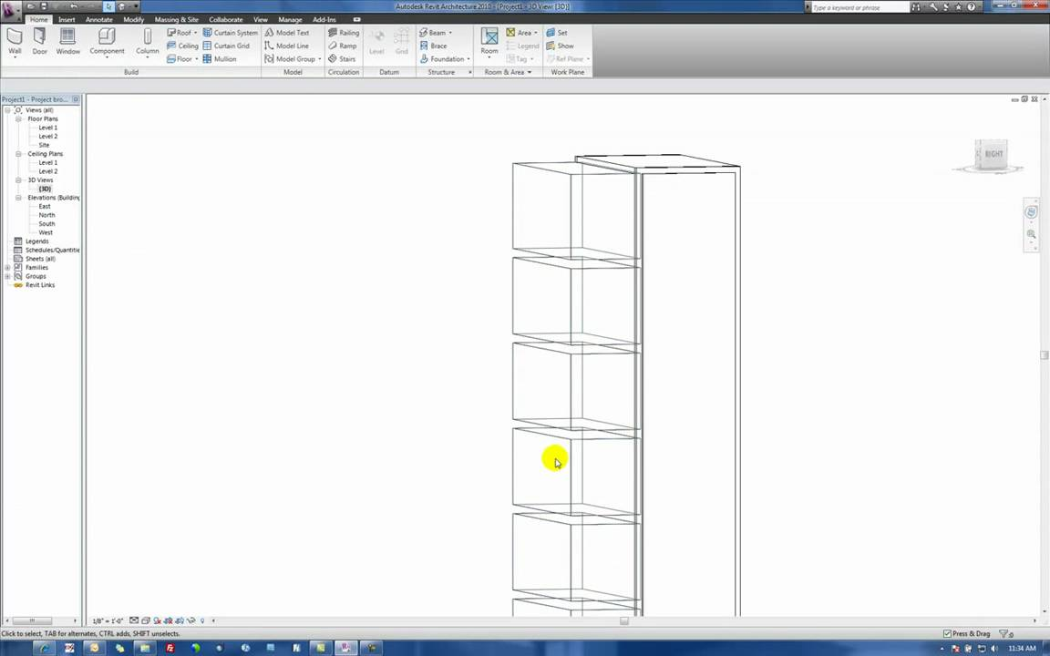Adding Realism To Book Shelves In Revit Architecture 2010