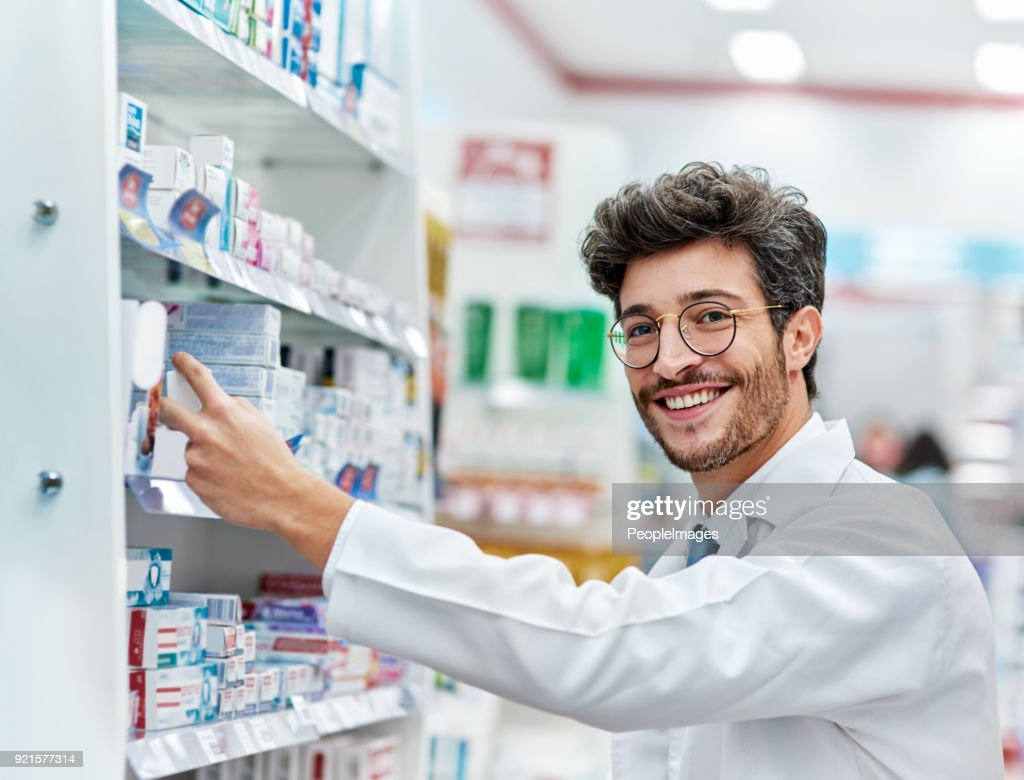 Keeping His Shelves Wellstocked Stock Photo - Getty Images