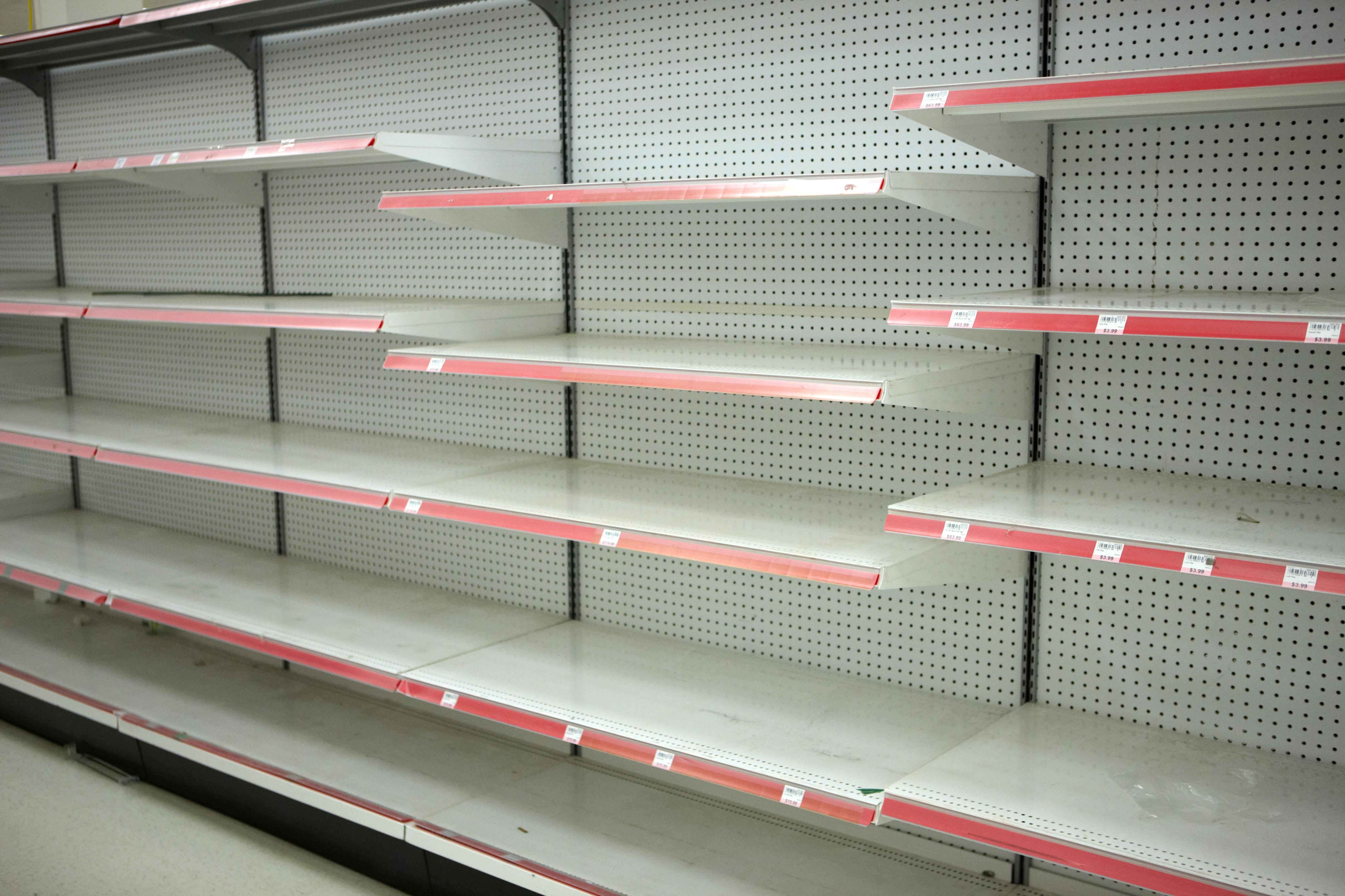 Supermarket Shelves Will Be Left Empty Unless Ministers