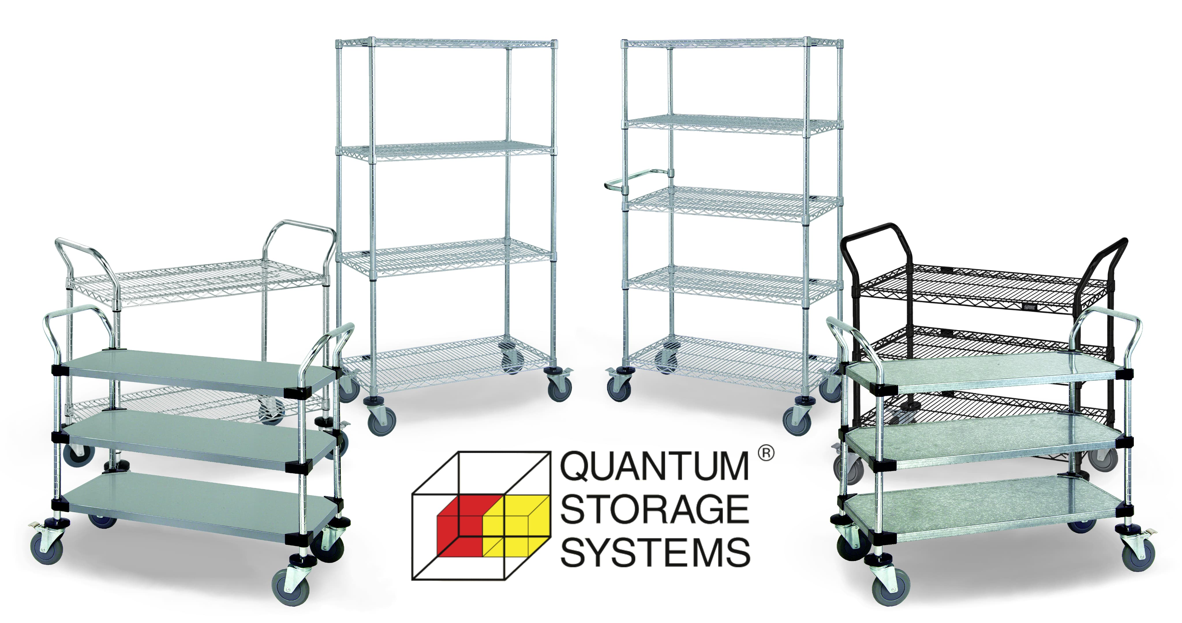 Wire Shelving, Chrome Wire, Wire Shelves, Wire Carts