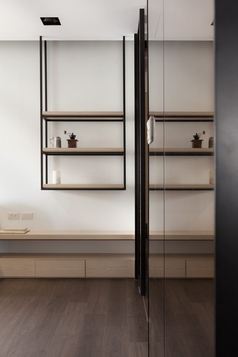 Da?jiu Interior | Neihu Apartment In 2019 | Shelves