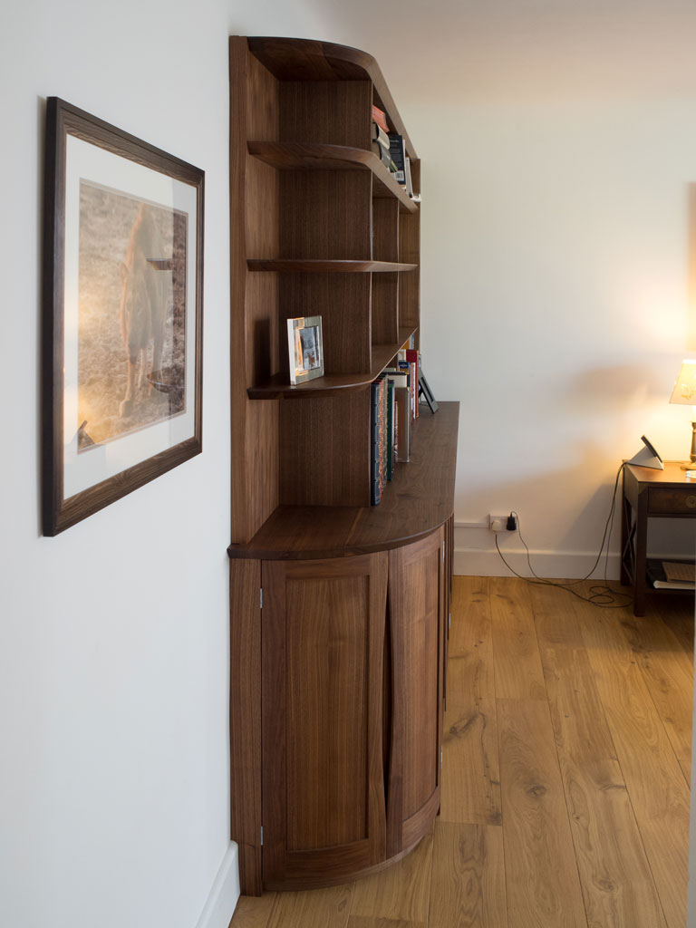 Bespoke Bookcases, Fitted Bookshelves & Alcove Units