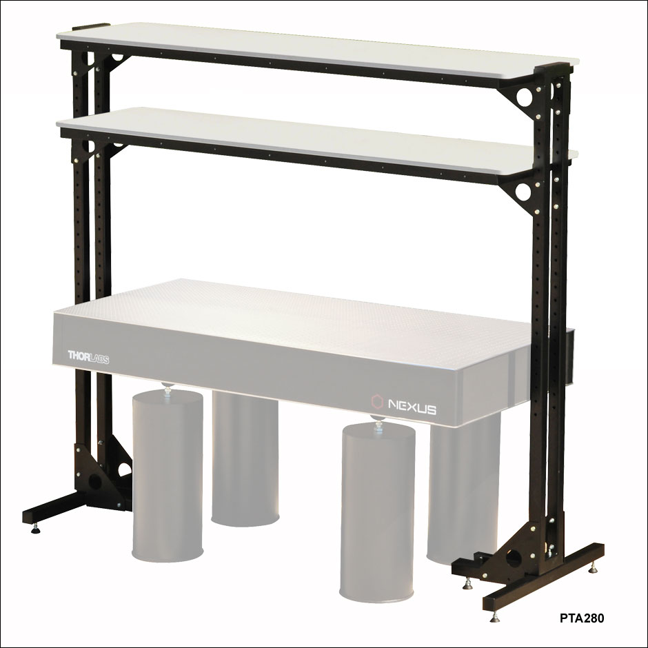 Optical Tables Shelves, Free-standing