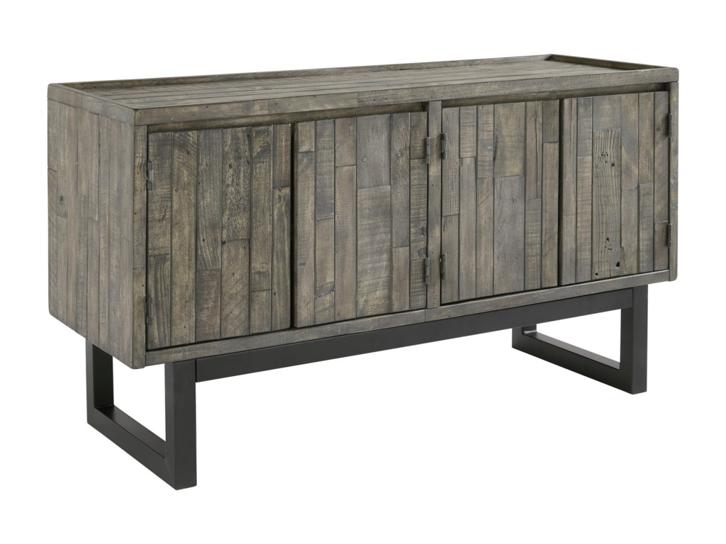 Cazentine Contemporary Accent Cabinet With Adjustable Shelves By Signature  Design By Ashley At Household Furniture