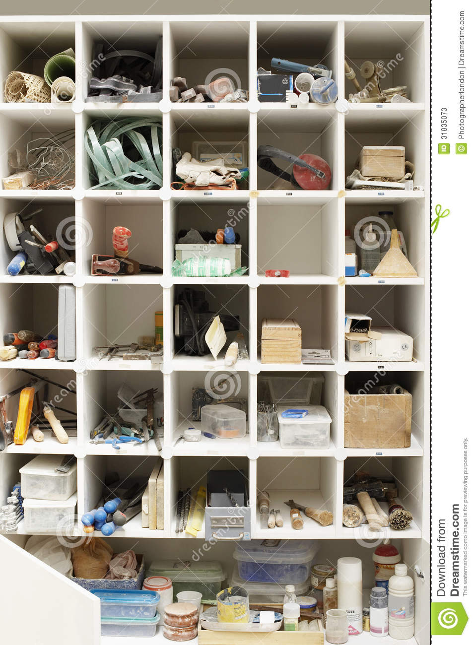 Tool Shelves Stock Image Image Of Industry, Convenience