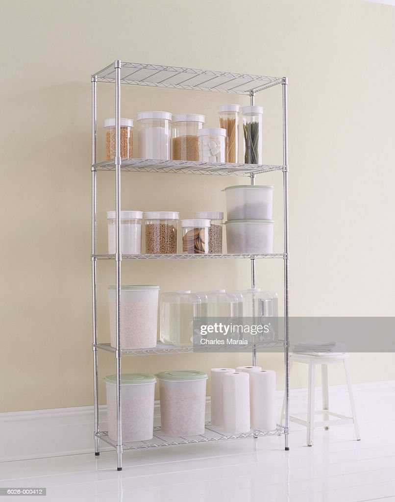 Shelves In Kitchen High-res Stock Photo - Getty Images