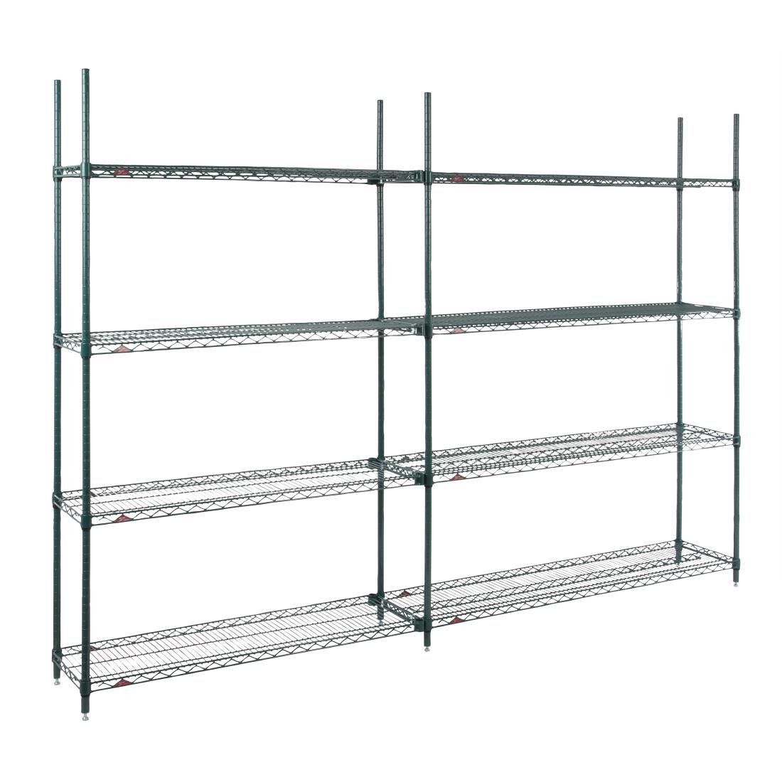 Details About Metro Super Erecta Add-on Shelving Kit 4 Shelves  1880x760x460mm [ds636]