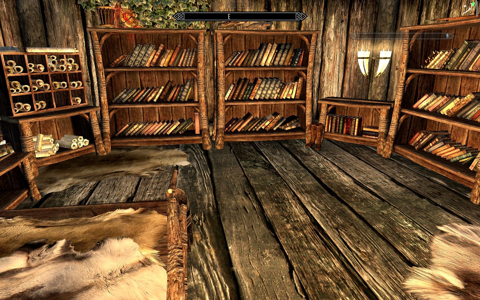 Scroll Shelves & Library Related Stuff   Dm's Craft   House