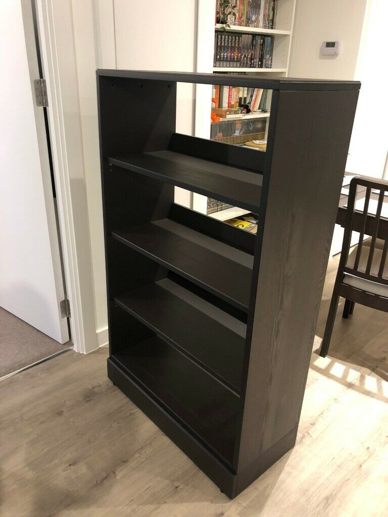 Nearly New Ikea Havsta Storage Shelves And Plinth, Black / Brown | In  Salford, Manchester | Gumtree