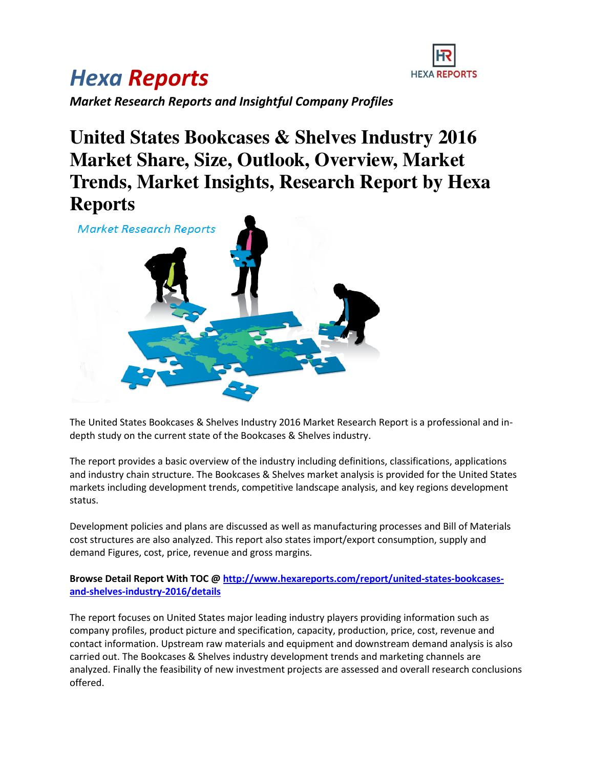United States Bookcases & Shelves Industry 2016 Market Share
