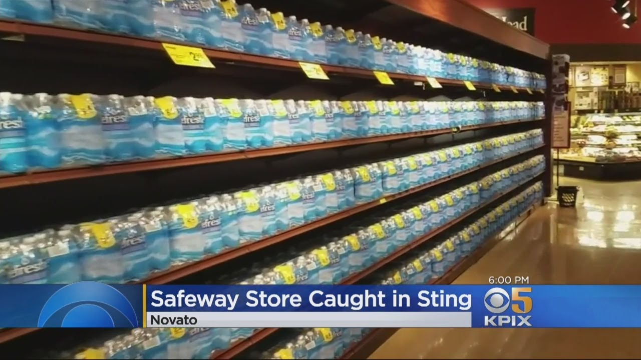 Liquor Pulled From Novato Safeway Shelves After Underage Alcohol Sting