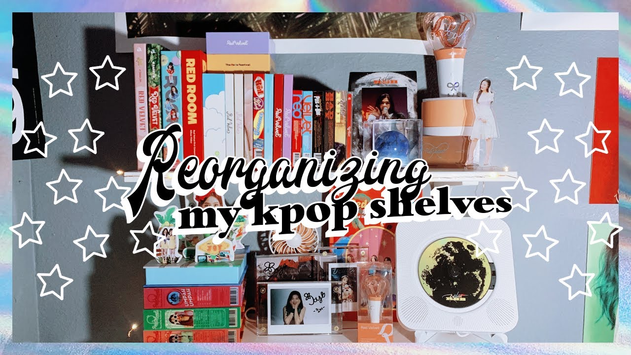 Reorganizing My Kpop Shelves � Astronord Cd Player Unboxing