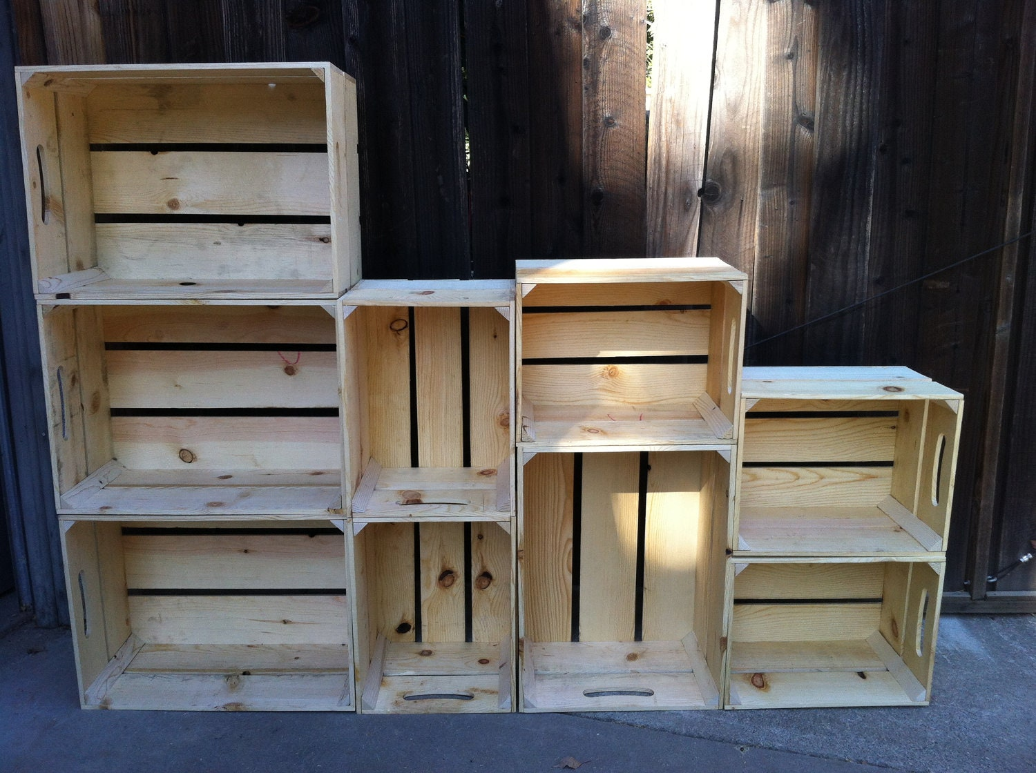 Crate Shelves On The Hunt