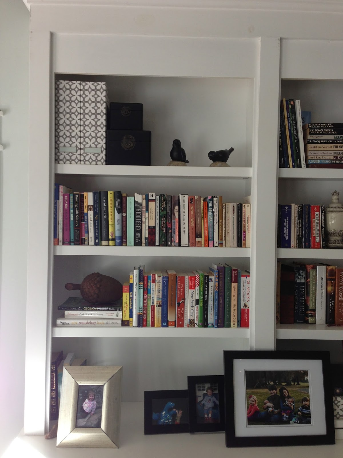 Bookshelves Before And After - Design Indulgence